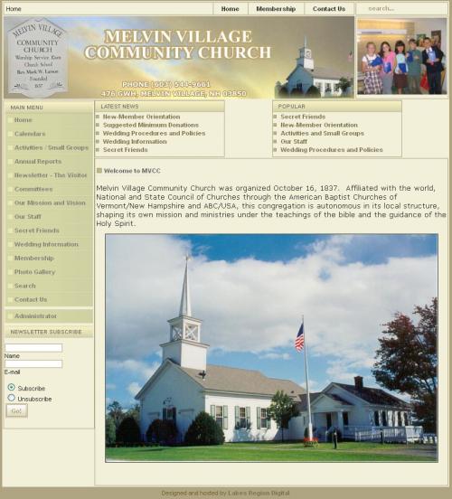 Melvin Village Community Church
